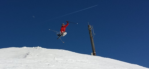 Pavel Trčala w ośrodku narciarskim Krvavec